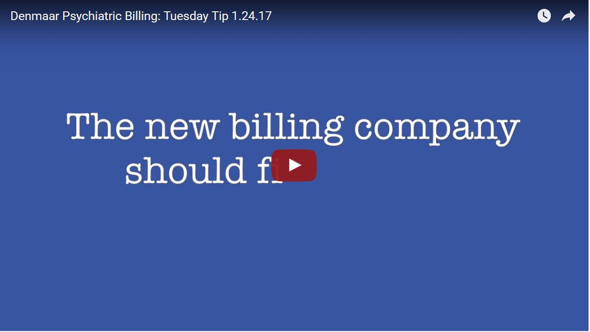 What can I expect when I convert to a new billing company?