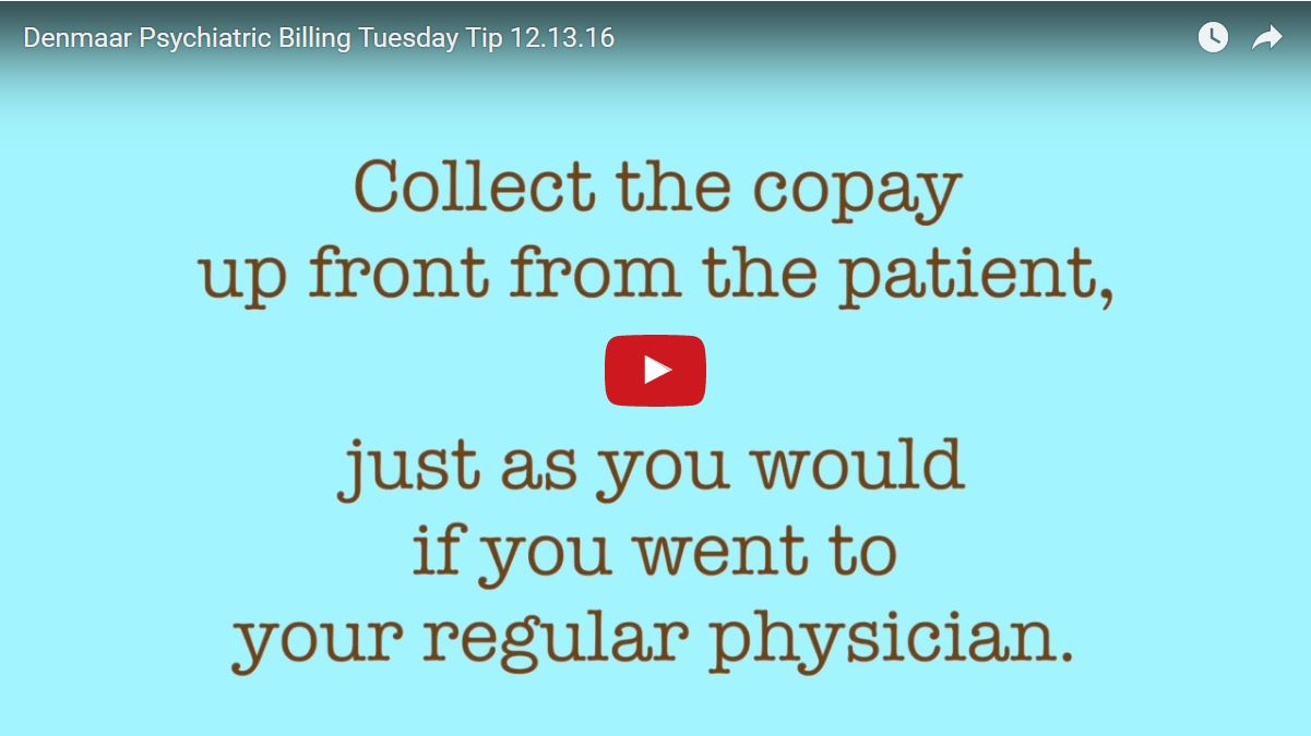 Why you should know the co-pay amount for each patient and collect it upfront
