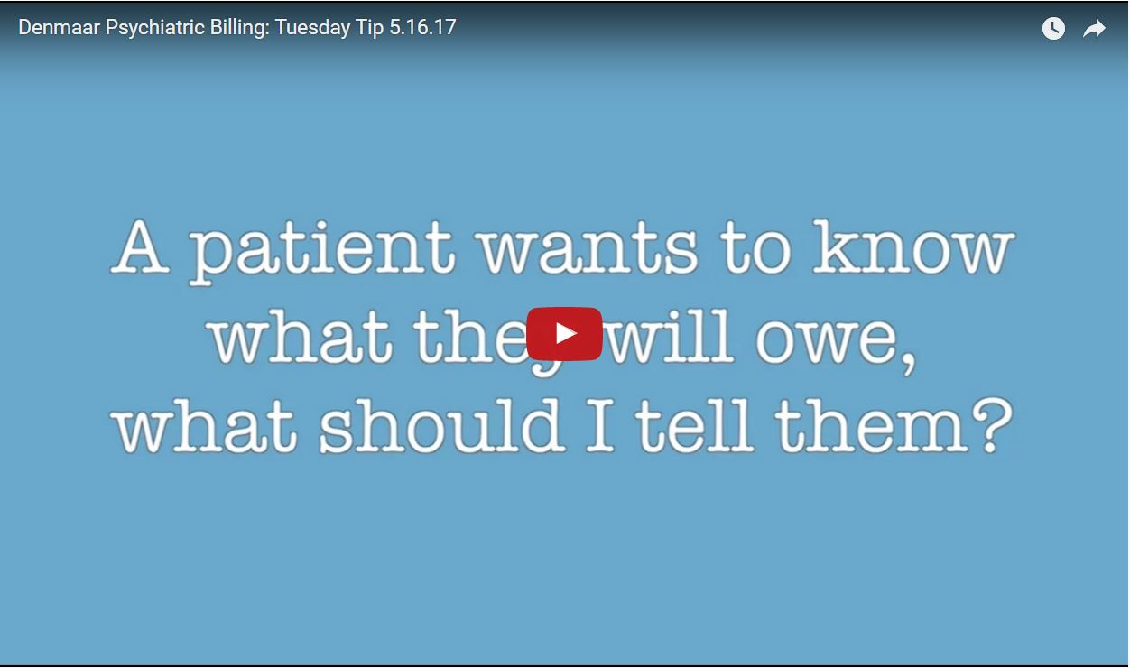 A patient wants to know what they will owe, what should I tell them?