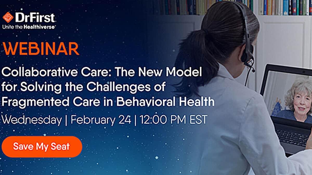 Webinar: Collaborative Care in Behavioral Health